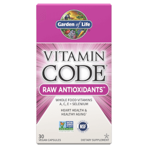Vitamin Code Raw Antioxidants - 30 Capsules