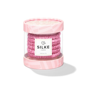 SILKE Hair Ties Blossom Powder - Pink