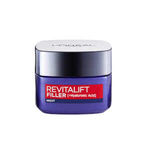 L'Oréal Paris Revitalift Filler and Hyaluronic Acid Anti-Ageing Night Cream 50ml