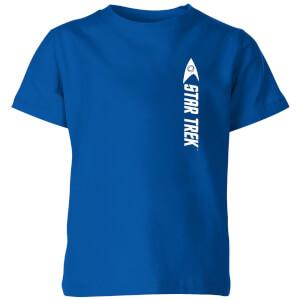 Science Badge Star Trek Kids' T-Shirt - Royal Blue