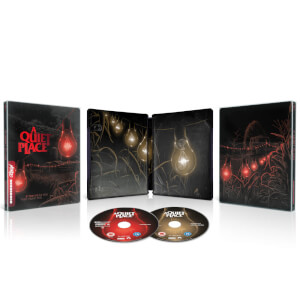 Un lugar tranquilo 4K (incl. Blu-ray 2D) - Steelbook Mondo #38 Exclusivo Zavvi