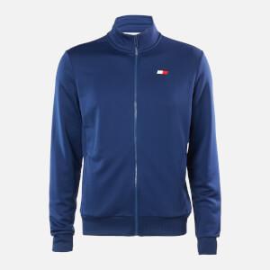 Tommy Sport Men's Printed Track Jacket - Blue Ink