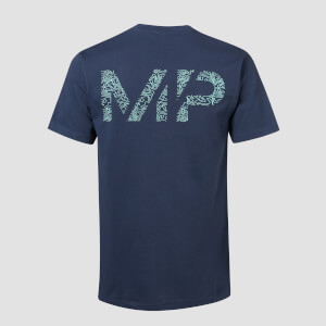 T-shirt Topograph MP - Inchiostro