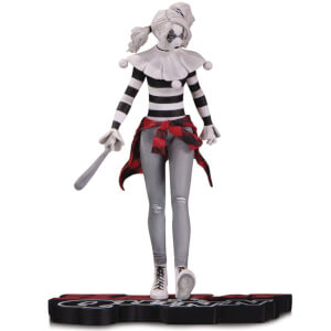 DC Collectibles Harley Quinn Red White And Black By Steve Pugh Statue