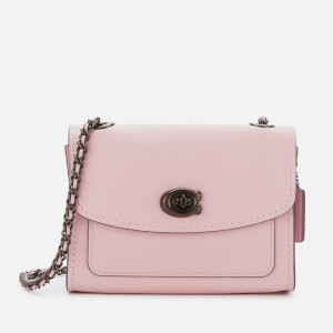 Coach Women's Refined Calf Leather Parker 18 Shoulder Bag - Aurora