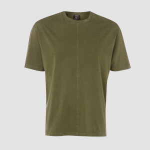 Camiseta Oversize Raw Training - Army Green