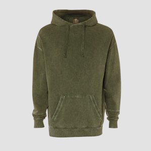 Sudadera con Capucha Raw Training - Army Green