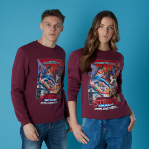 Sweat-shirt Sega Streets of Rage Burgundy Sweater - Burgundy - Unisexe