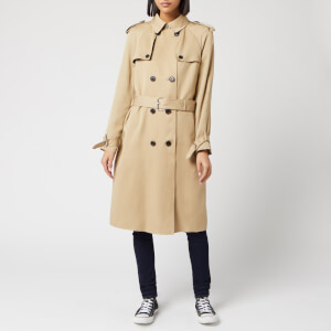 Calvin Klein Women's Lightweight Trench Coat - Beige