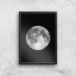 The Motivated Type Single Moon Giclée Art Print