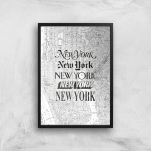The Motivated Type New York New York Giclée Art Print