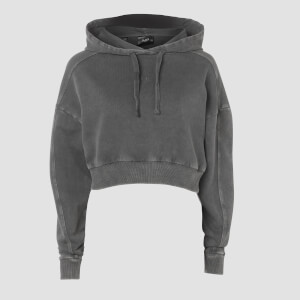 Raw Training Oversized Hoodie - Carbon