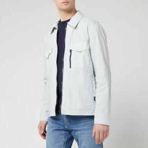 PS Paul Smith Men's Zip Overshirt - Light Blue