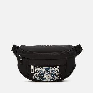 KENZO Men's Mini Neoprene Belt Bag - Black