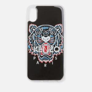 KENZO Men's Tiger iPhone X Case - Black