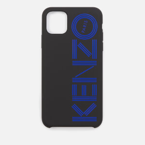 KENZO Men's Logo iPhone 11 Max Case - Blue