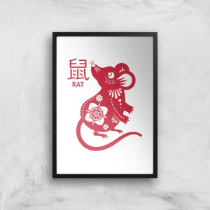 Year Of The Rat Giclee Art Print