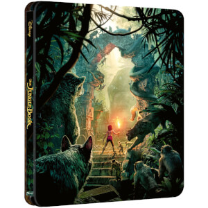The Jungle Book (Live Action) – Zavvi exklusives 4K Ultra HD Steelbook (Inkl. 2D Blu-ray)