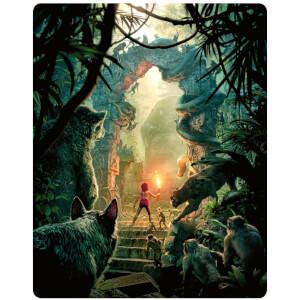 El libro de la selva Live Action 4K (incl. Blu-ray 2D) - Steelbook Edición Limitada Exclusivo Zavvi (Edición GB)