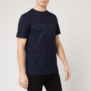 Ted Baker Men's Helter Pique Panelled T-Shirt - Navy