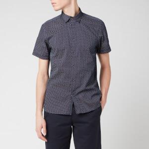 Ted Baker Men's Sortit Geo Print Shirt - Navy
