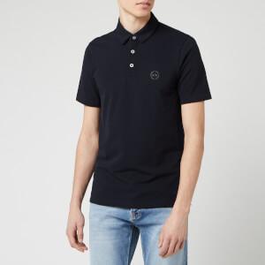 Armani Exchange Men's Basic Polo Shirt - Navy