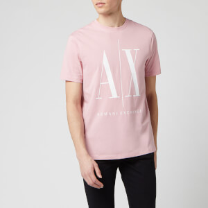 Armani Exchange Men's AX And Script Logo T-Shirt - Zephyr