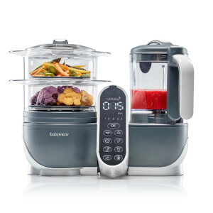 Babymoov Nutribaby+ Industrial Food Processor - Grey