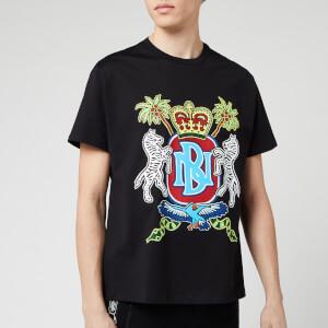 Neil Barrett Men's Coat of Arms Jody Paulson T-Shirt - Black/Multi