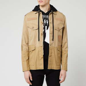 Neil Barrett Men's Vintage Military Jacket - Old Biscuit