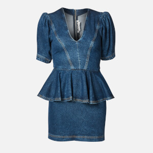 ROTATE Birger Christensen Women's Mindy Dress - Medium Blue