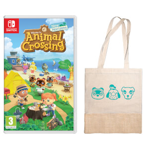 Animal Crossing: New Horizons + Tote Bag Pack