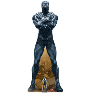 Star Cutouts The Avengers Black Panther Lifesized Cardboard Cut Out
