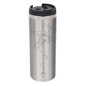 Magic: The Gathering Theros: Beyond Death Helmet Steel Stainless Steel Thermo Travel Mug - Metallic Finish