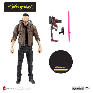 McFarlane Toys Cyberpunk 2077 V Male 7-Inch Action Figure