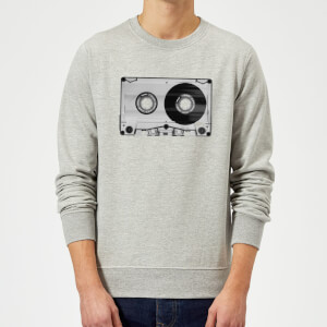 The Motivated Type Cassette Tape Sweatshirt - Grey