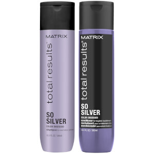 Matrix Total Results So Silver Shampoo and Conditioner