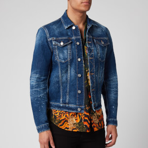 Dsquared2 Men's Dan Icon Jeans Jacket - Blue