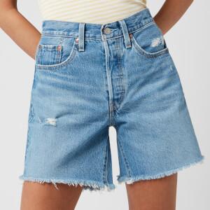 Levi's Women's 501 Mid Thigh Shorts - Luxor Street