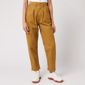 Levi's Women's Pleated Balloon Leg Jeans - Dull Gold Fine Twill