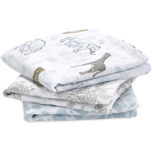 aden + anais Muslin Squares - Jungle (3 Pack)