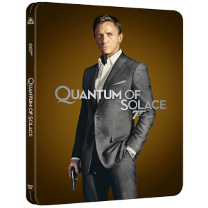 007: Quantum of Solace 4K (incl. Blu-ray 2D) - Steelbook Ed. Limitada Exclusivo