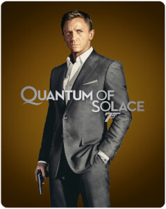 Quantum of Solace - Steelbook 4K Ultra HD (Include Blu-Ray 2D) - Esclusiva Zavvi