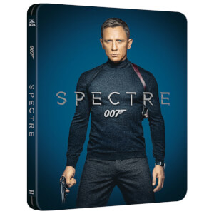 007: Spectre 4K (incl. Blu-ray 2D) - Steelbook Ed. Limitada Exclusivo