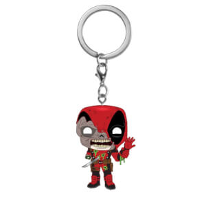 Marvel Zombies Deadpool Pop! Keychain