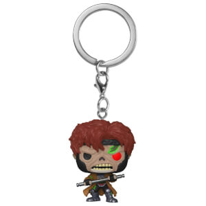 Marvel - Gambit Zombie Portachiavi Pocket Pop!