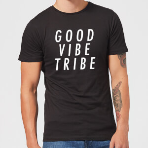 Good Vibe Tribe Men's T-Shirt - Black