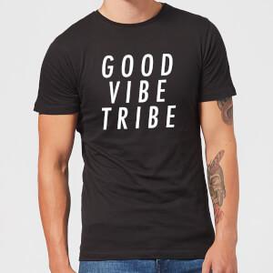 Good Vibe Tribe Men's T-Shirt - Black
