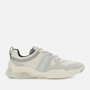 Coach Men's Tech Runner Trainers - Chalk