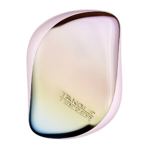 Tangle Teezer Compact Styler Detangling Hairbrush Pearlescent Matte Ombre Chrome
